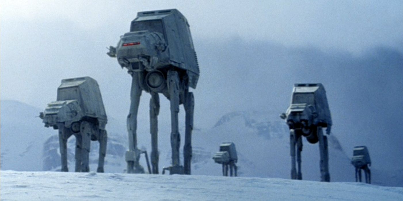 The Cost Of Building A Real-World AT-AT