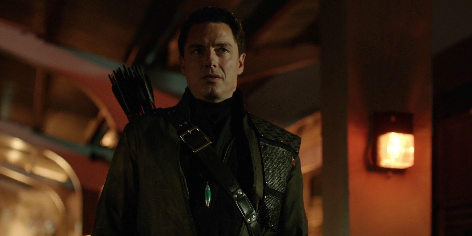 Arrow Season 8: John Barrowman Reprising Dark Archer Role