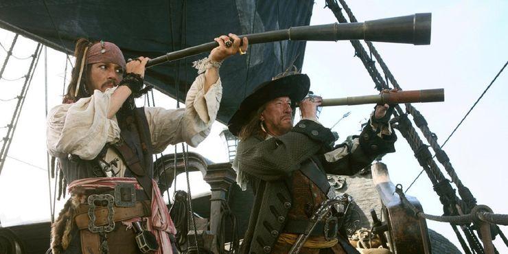 Piratas do Caribe no fim do mundo Johnny Depp