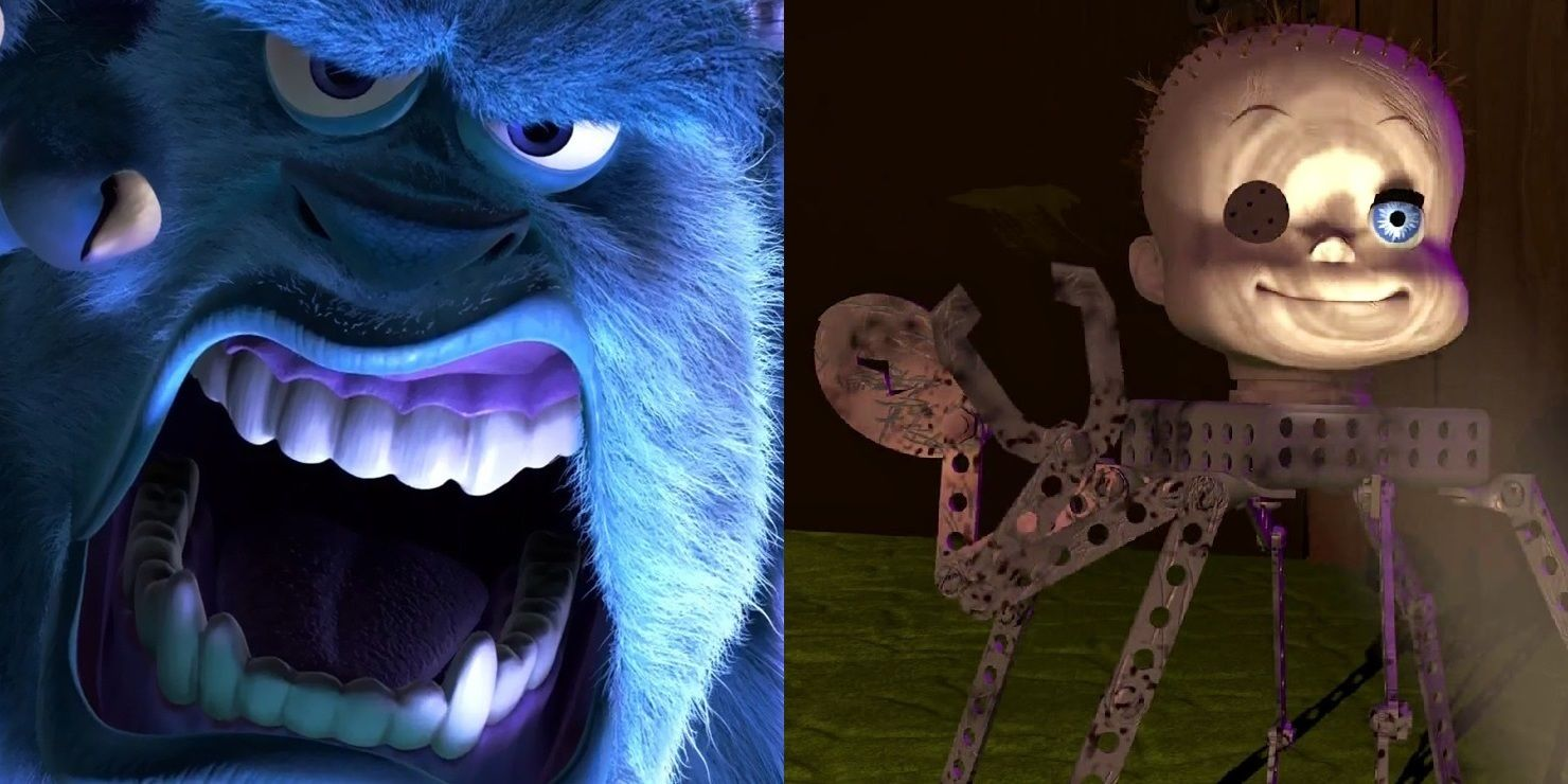 15 Most Disturbing Moments In Pixar Movies Screenrant