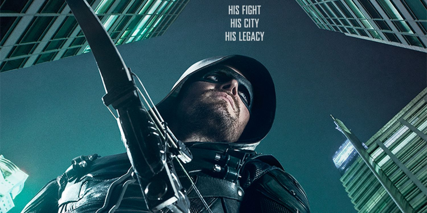 arrow season 5 poster his fight his city his legacy