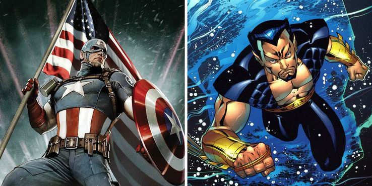 Captain-America-Namor-Sub-Mariner-Marvel