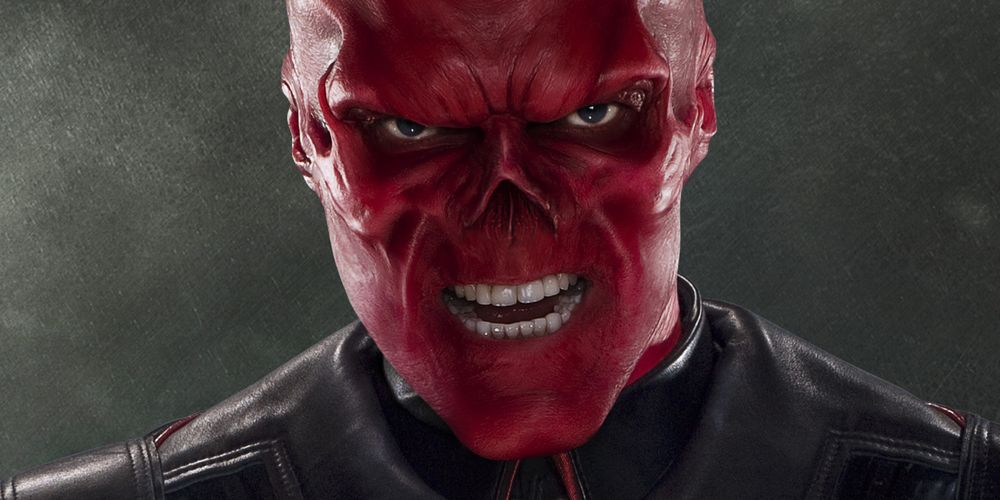 Red Skull ditching his daughter