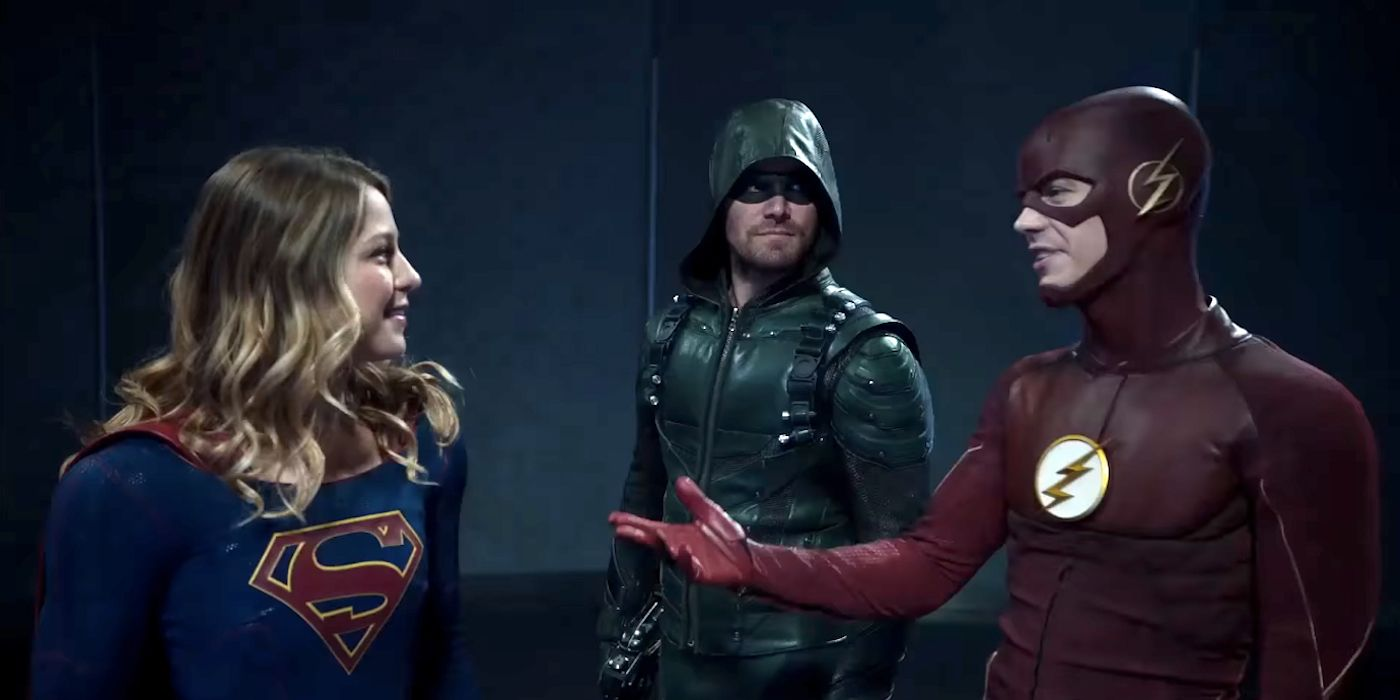 superhero fight club 2 0 promo welcomes supergirl to the cw