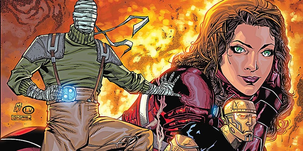 Geoff Johns Teases Doom Patrol for DC's Titans TV Series