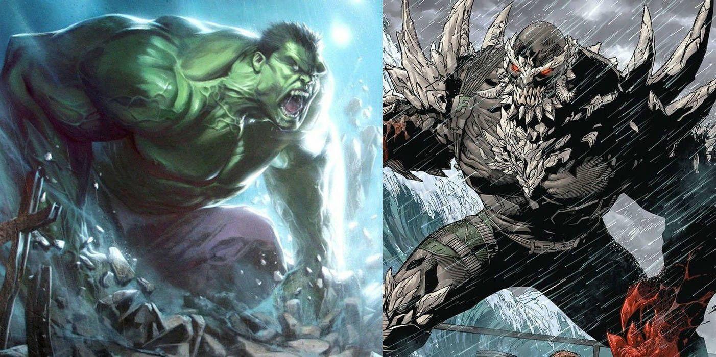 Hulk vs. Doomsday: Death Battle Video | Screen Rant Doomsday Vs Hulk Who Wins