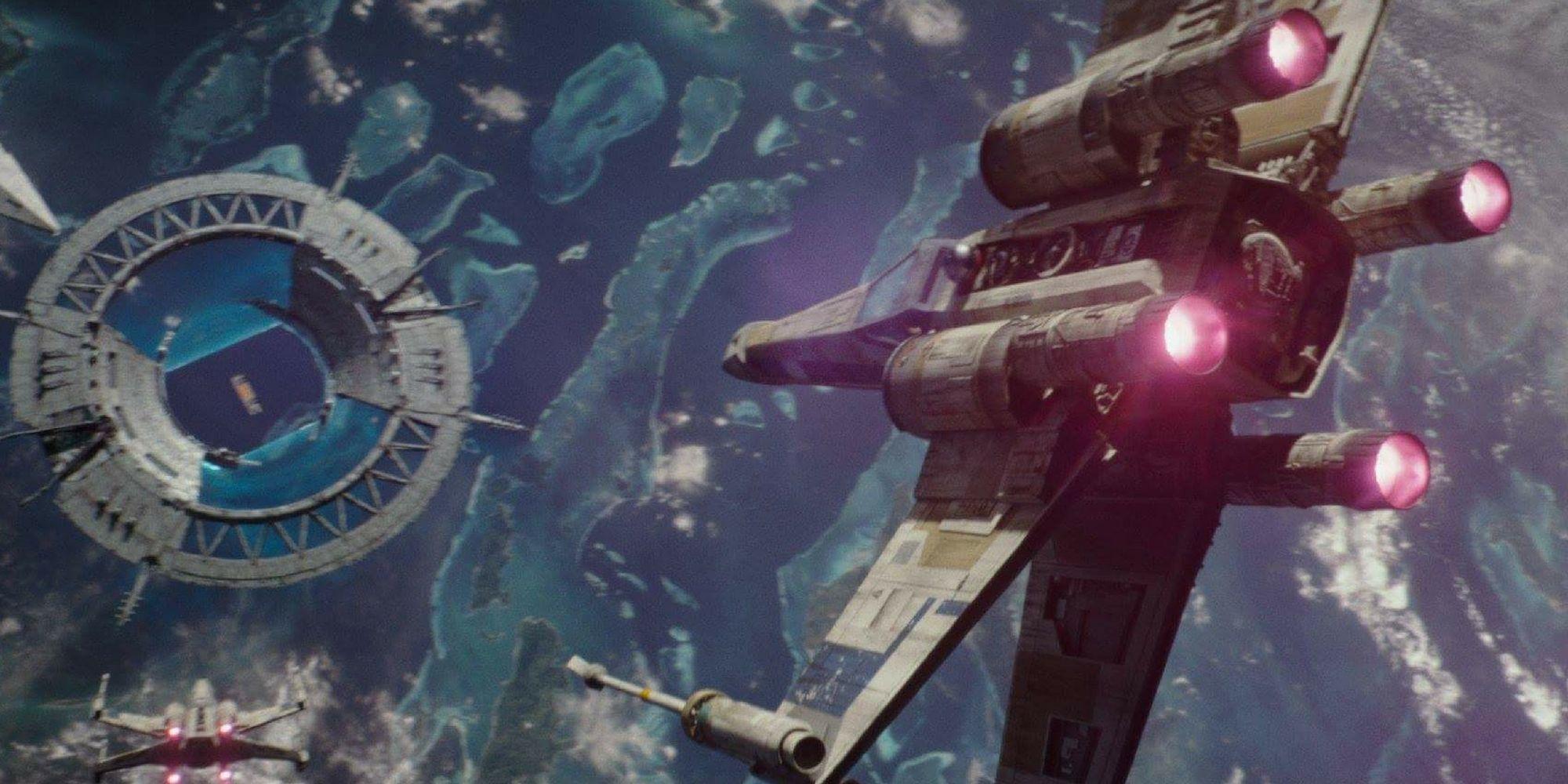 star wars rogue one scafir defensive shield dual monitor
