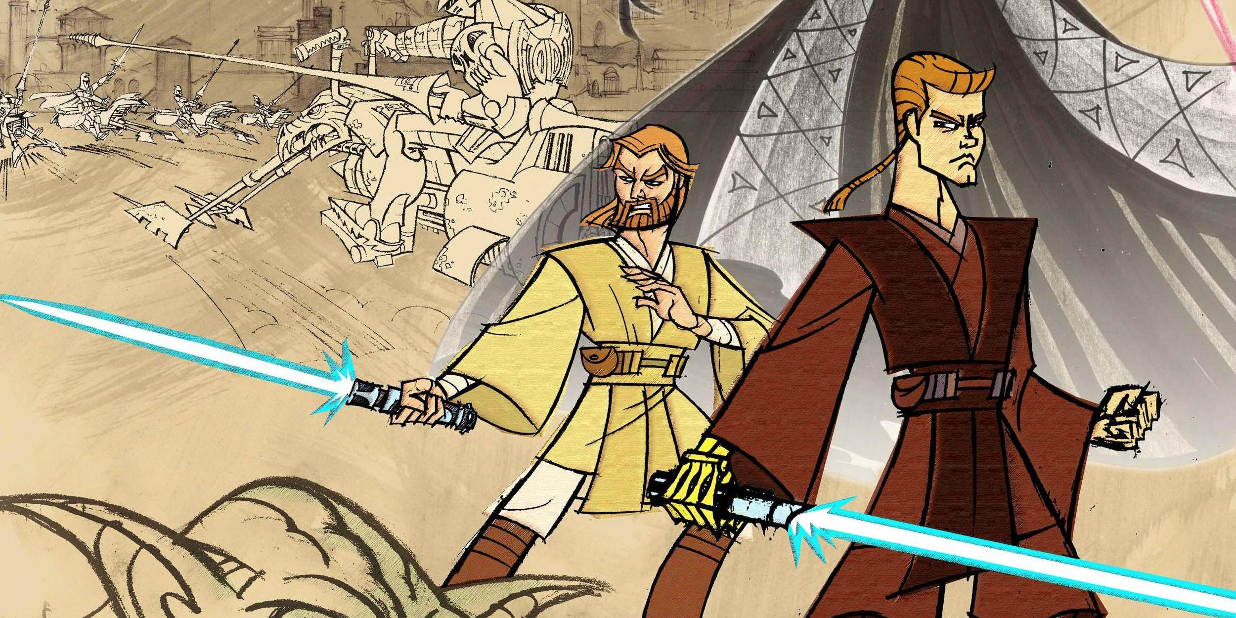 Why Genndy Tartakovsky's Star Wars: Clone Wars Isn't Canon