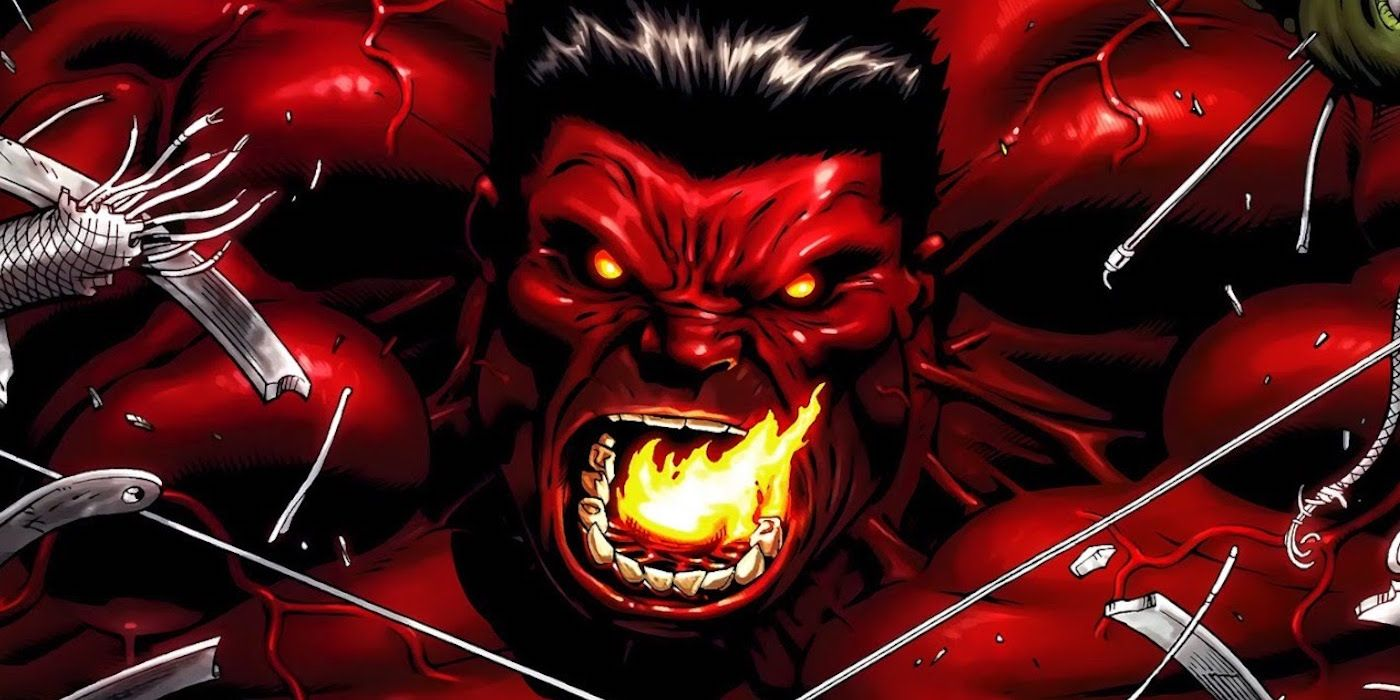 Marvel 15 things you need to know about red hulk screenrant - Pictures of red hulk ...