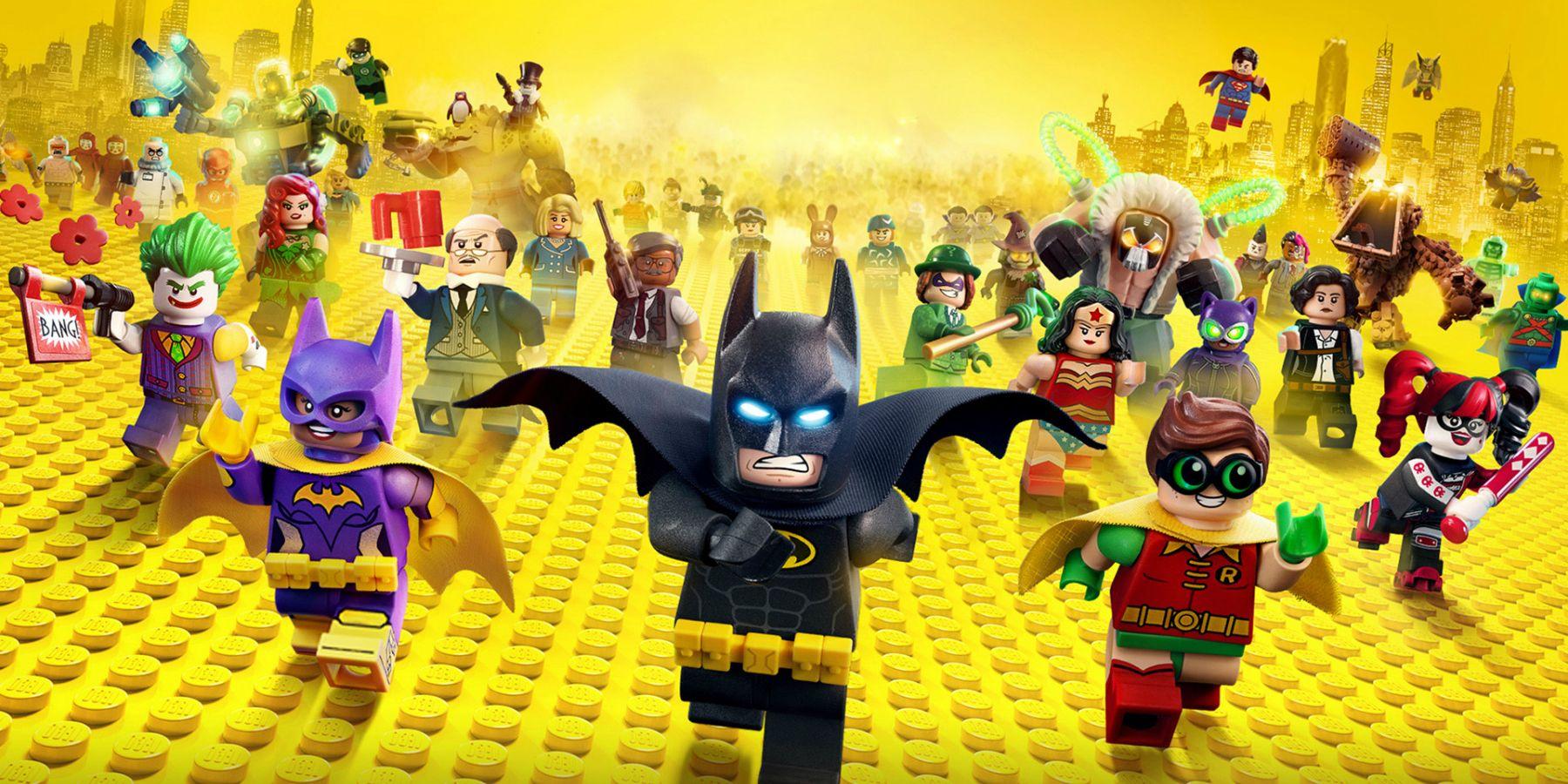 The Lego Batman Movie Wallpaper: LEGO Batman Swipes Left On DC TV Heroes In New Promo