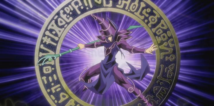 Dark Magician in Yu-Gi-Oh!