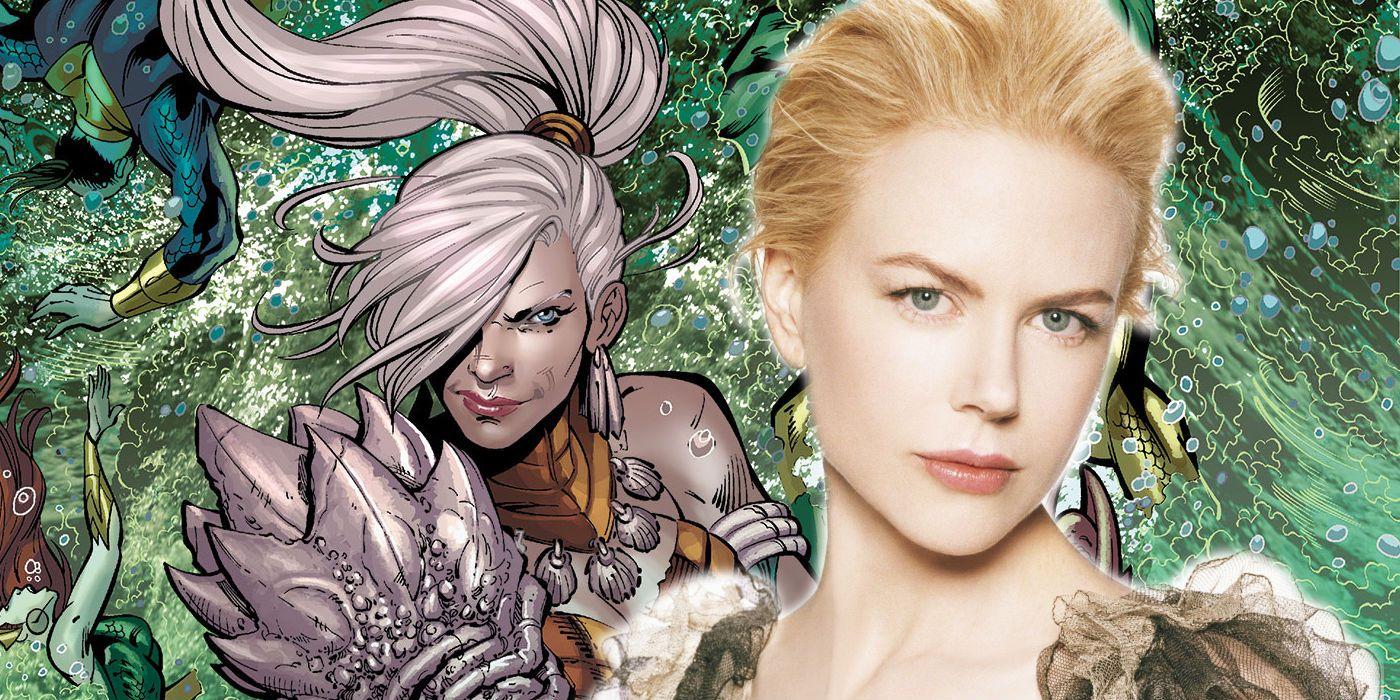 Aquaman Movie Images Reveal Nicole Kidman As Queen Atlanna