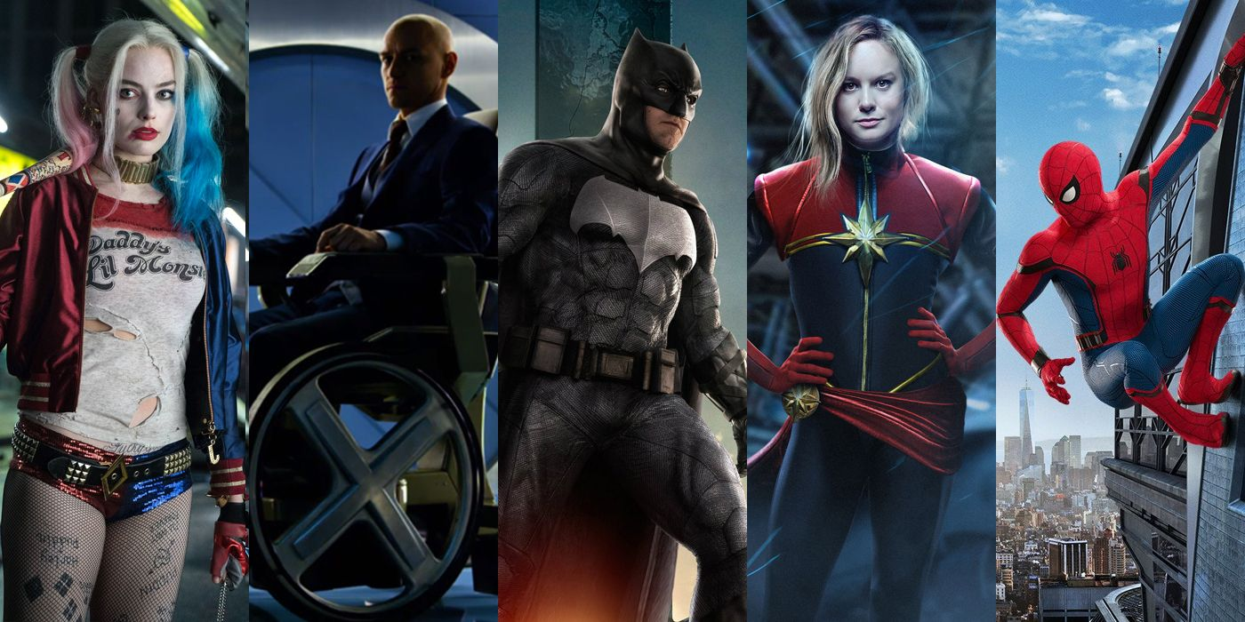 Dc 2019 Movies Poster: How Many Superhero Movies Are There In 2019?