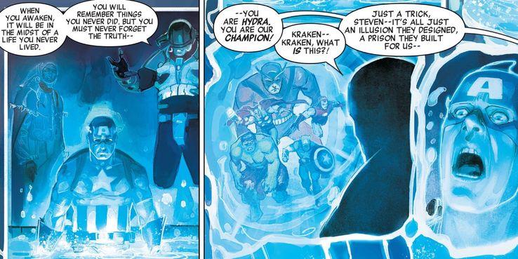 Marvel Reveals Captain America Was ALWAYS Evil   ScreenRant