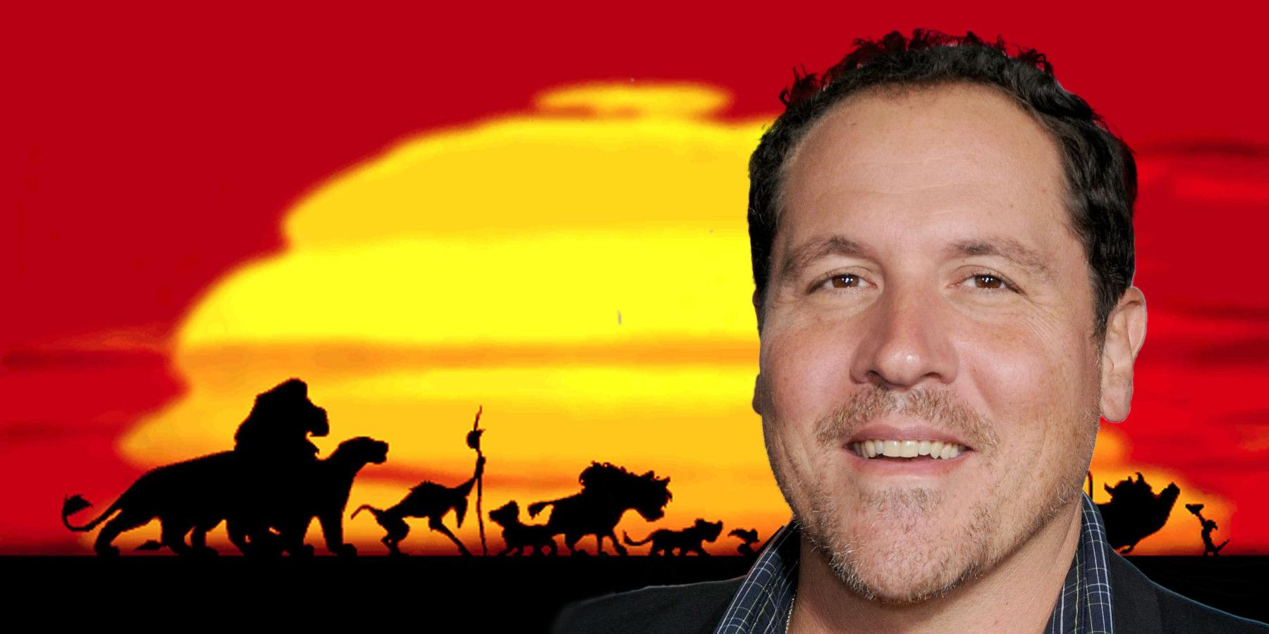 Here's A Photo Of The Lion King Cast & Jon Favreau At Work