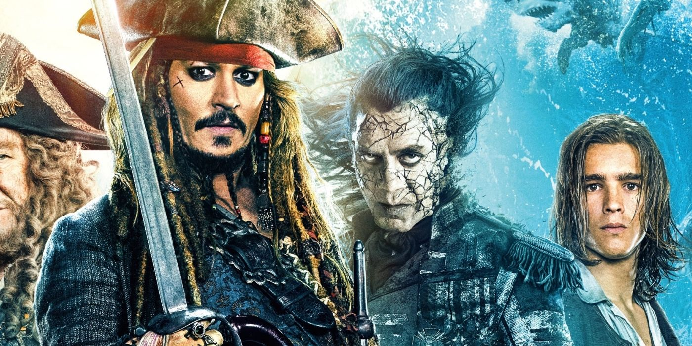 Pirates of the caribbean movie posters