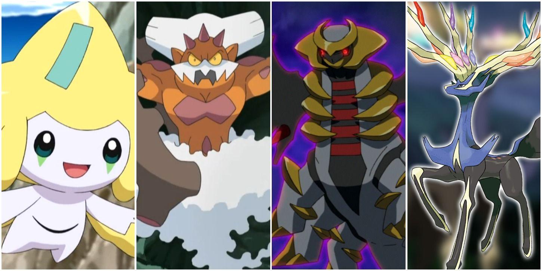 20 Best Legendary Pokémon Ranked Screenrant
