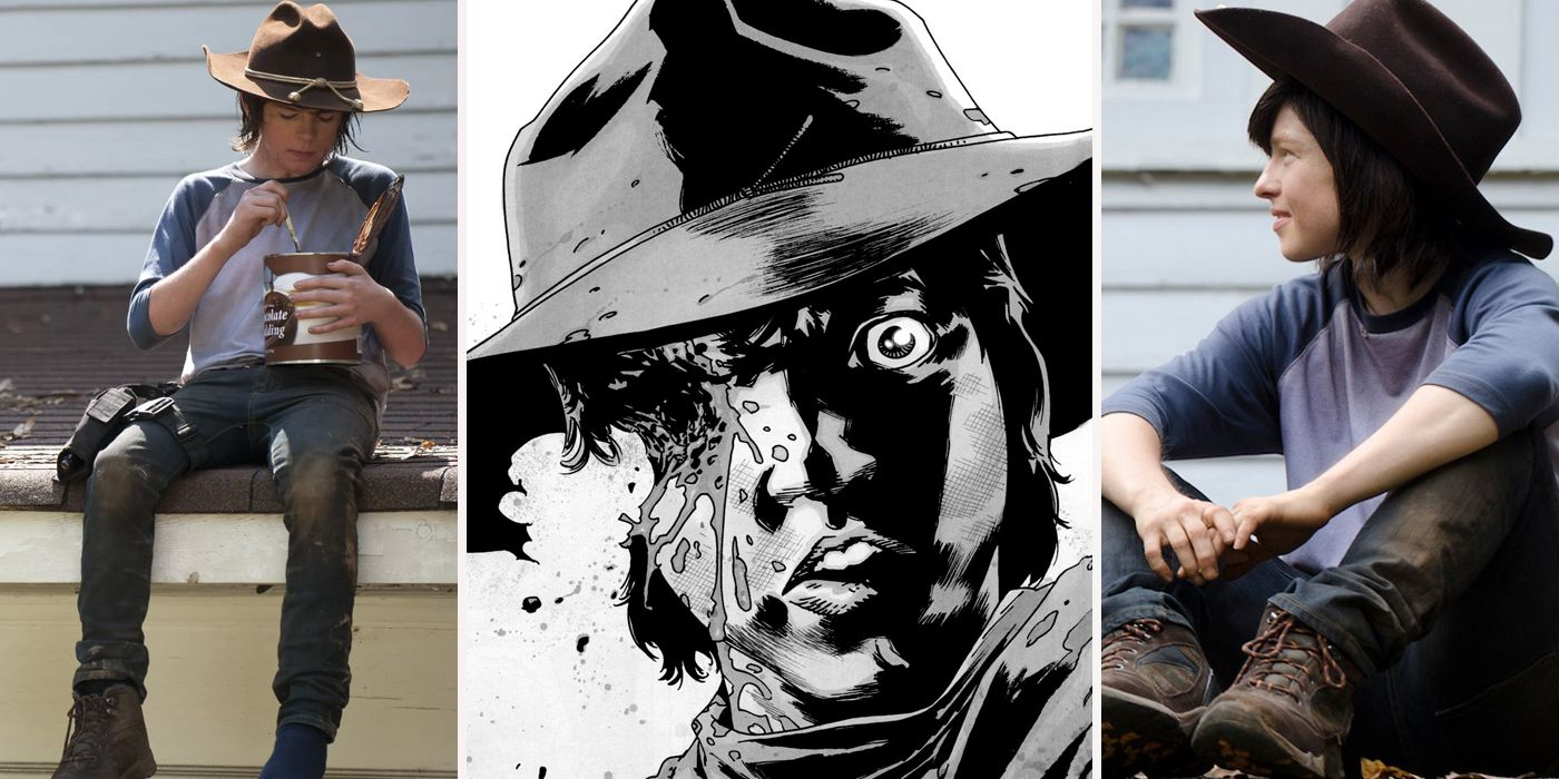 Things You Dont Know About Carl Grimes Screenrant