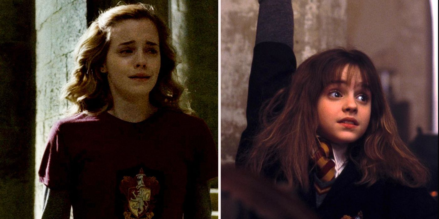 Times hermione granger was the worst screenrant - Harry potter movies hermione granger ...