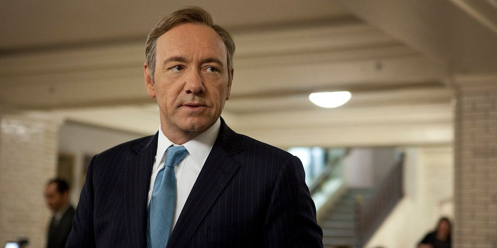 Netflix Fires Kevin Spacey from House of Cards, Drops Gore Biopic