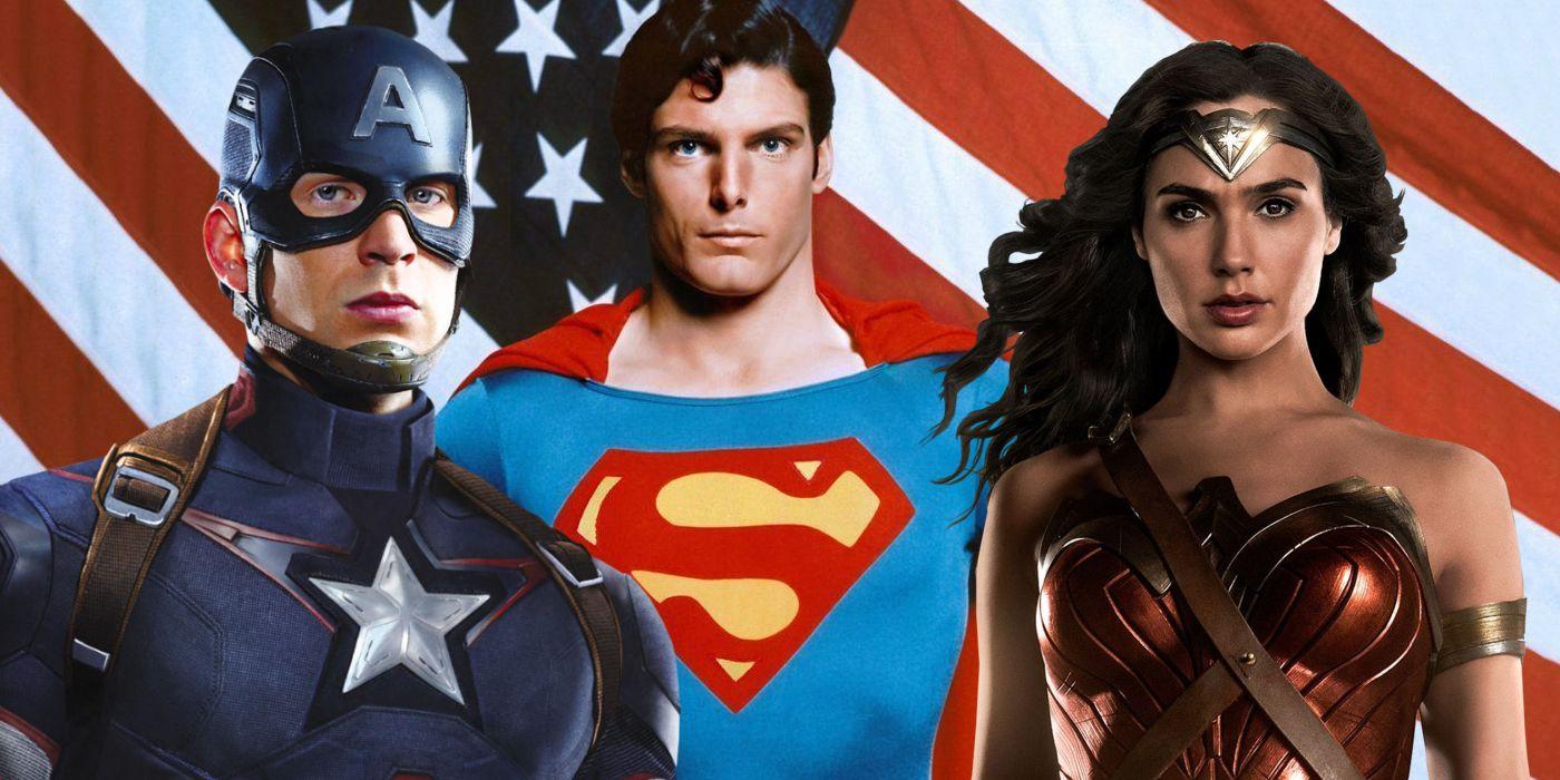 marvel film superman