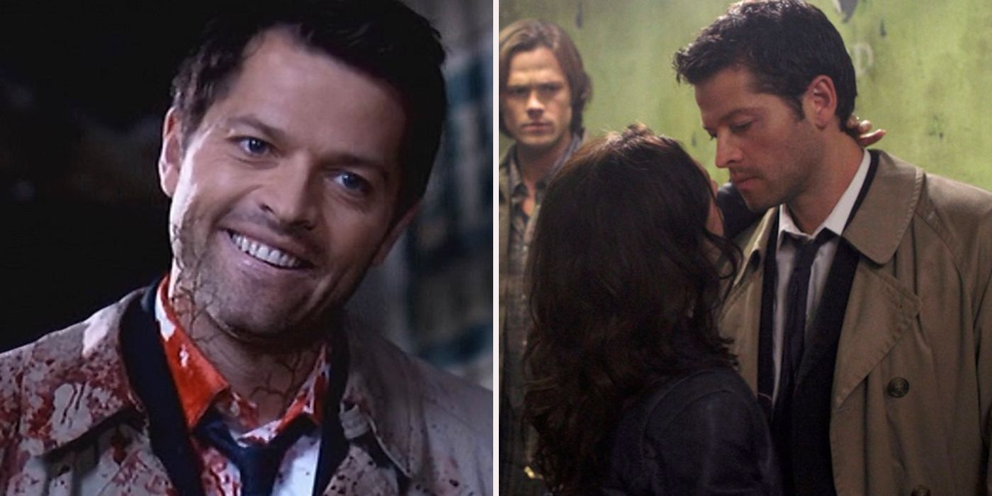 worst things castiel has done on supernatural screenrant
