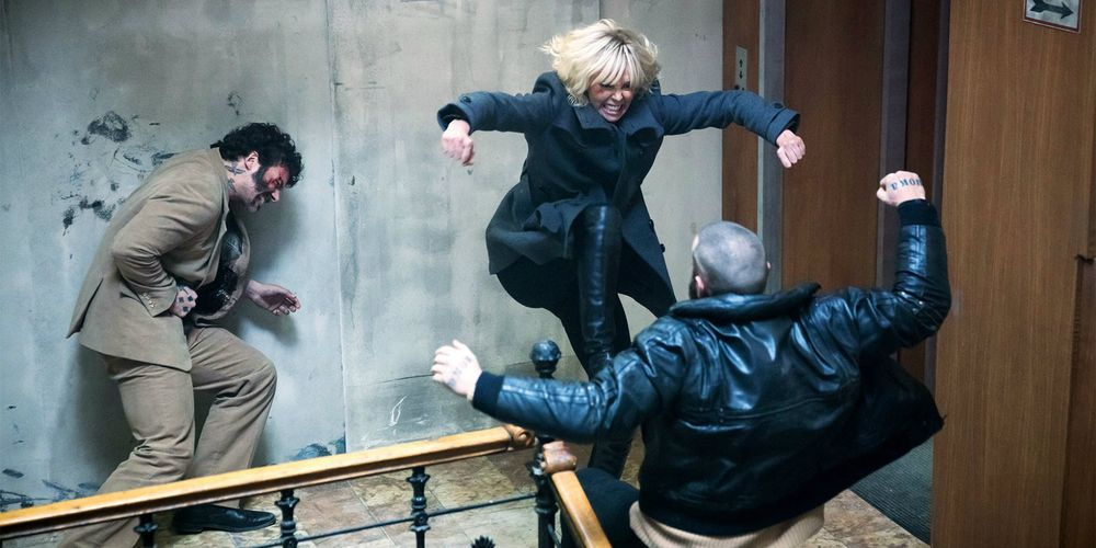 How Atomic Blonde's Stairwell Fight Scene Was Made