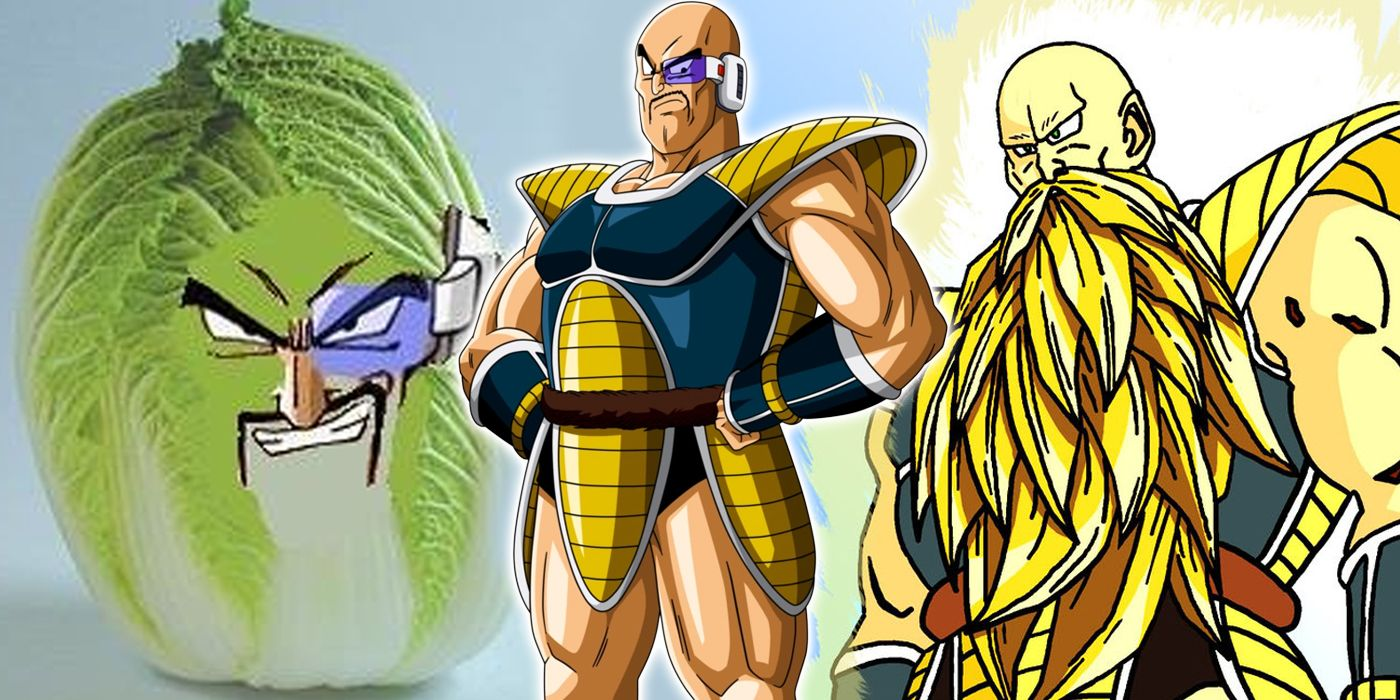 dragon ball z facts about nappa screenrant