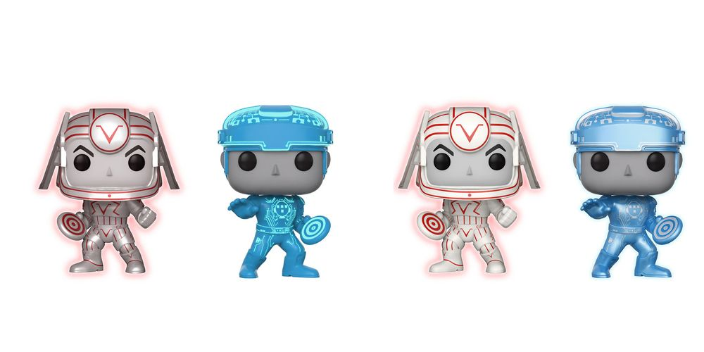 Funko Reveals Line of Classic Tron Figures That Glow in the Dark