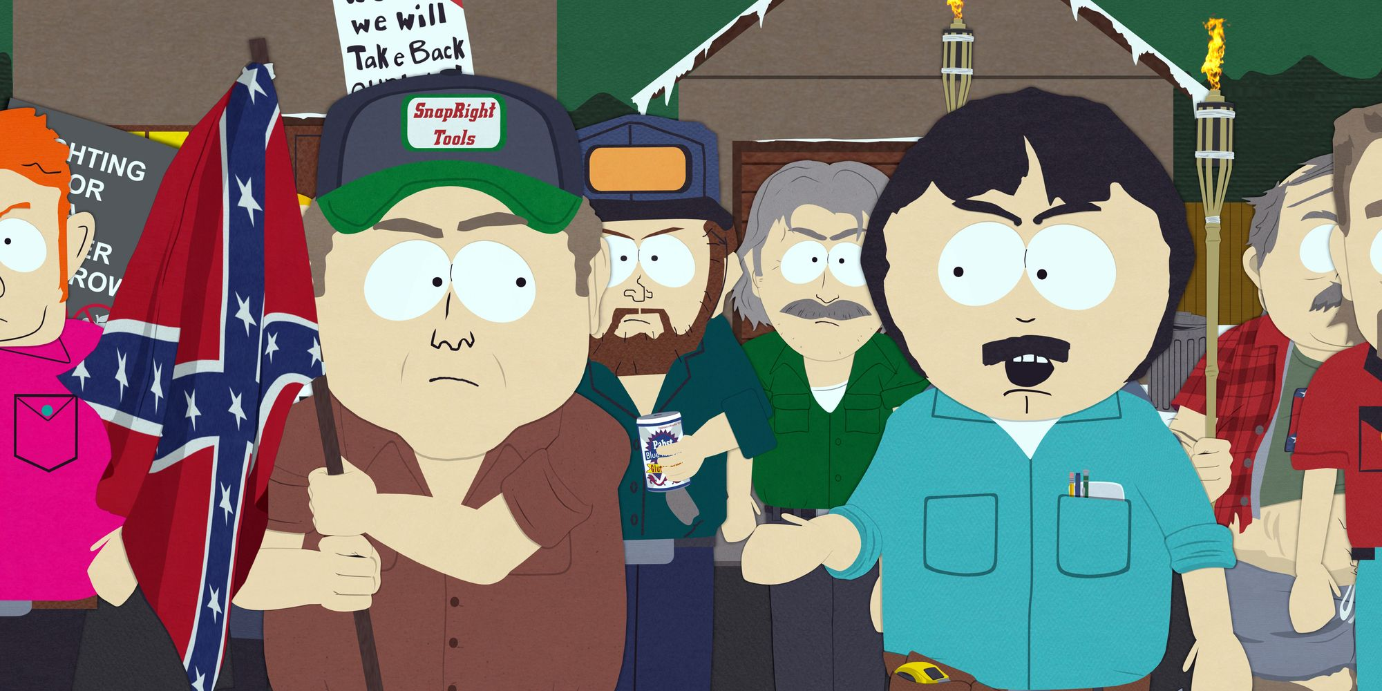 satirical nature of south park 'satire has become reality': south park creators say they're backing away from political humor south park's latest season had everything to do with the.