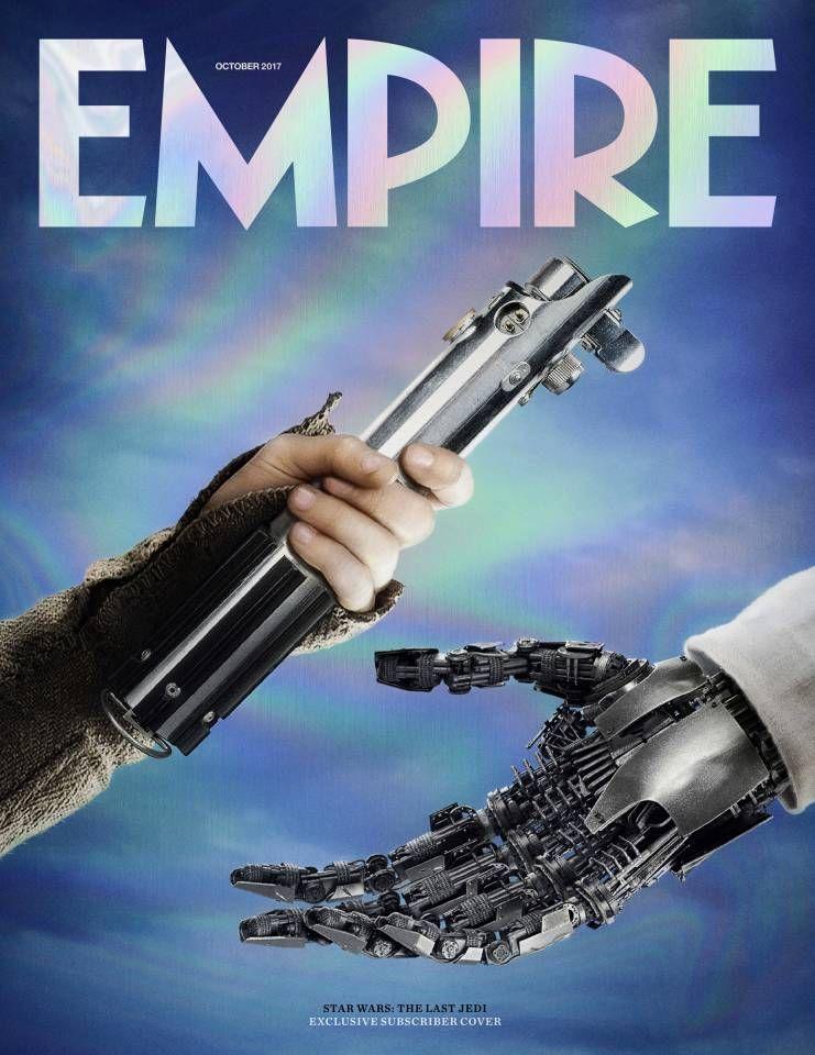 Star Wars: Episode VIII de Rian Johnson!!! - Page 9 Star-Wars-8-Empire-Cover-Rey-Luke-Lightsaber