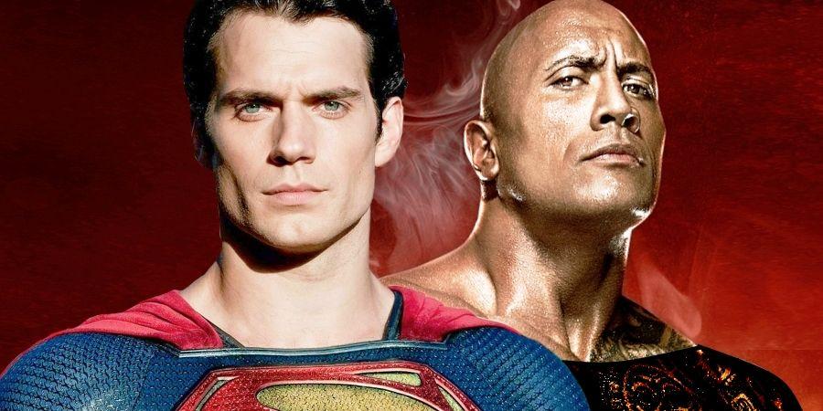 610787fb Dwayne Johnson Likens His Black Adam Character's Powers To Superman
