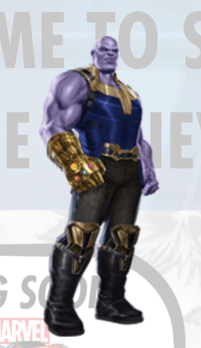 Thanos Infinity War Infinity Gauntlet Full Look
