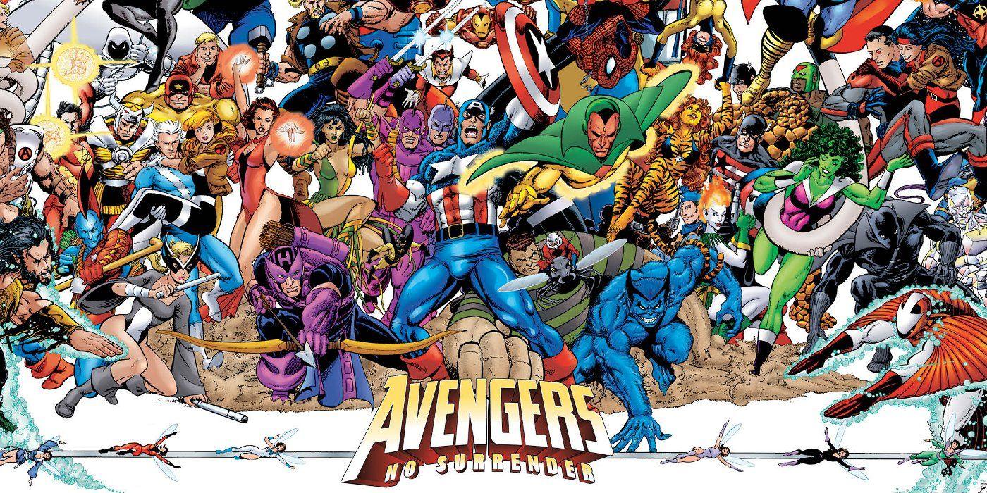 Marvel S No Surrender Trailer Brings Avengers Series Together border=