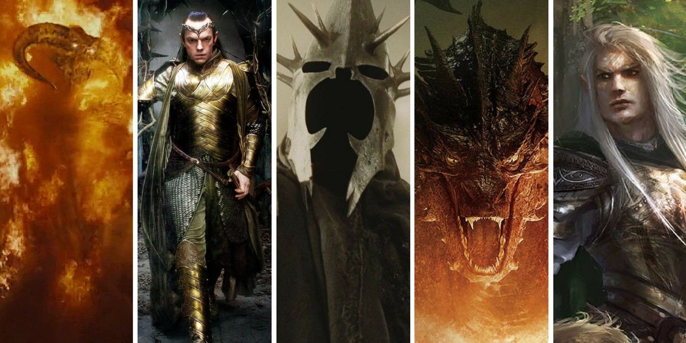 lord of the rings most powerful beings ranked screenrant