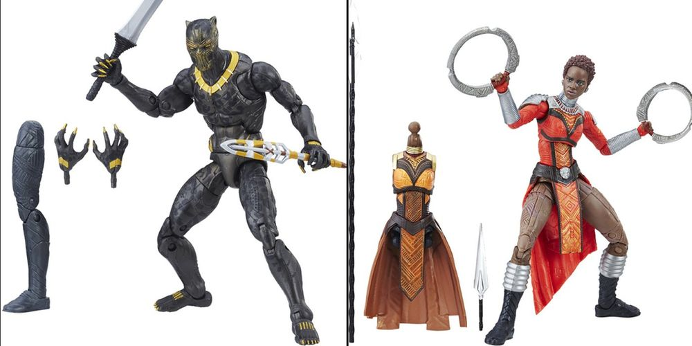 Black Panther Heroes & Villain Join the Marvel Legends Line