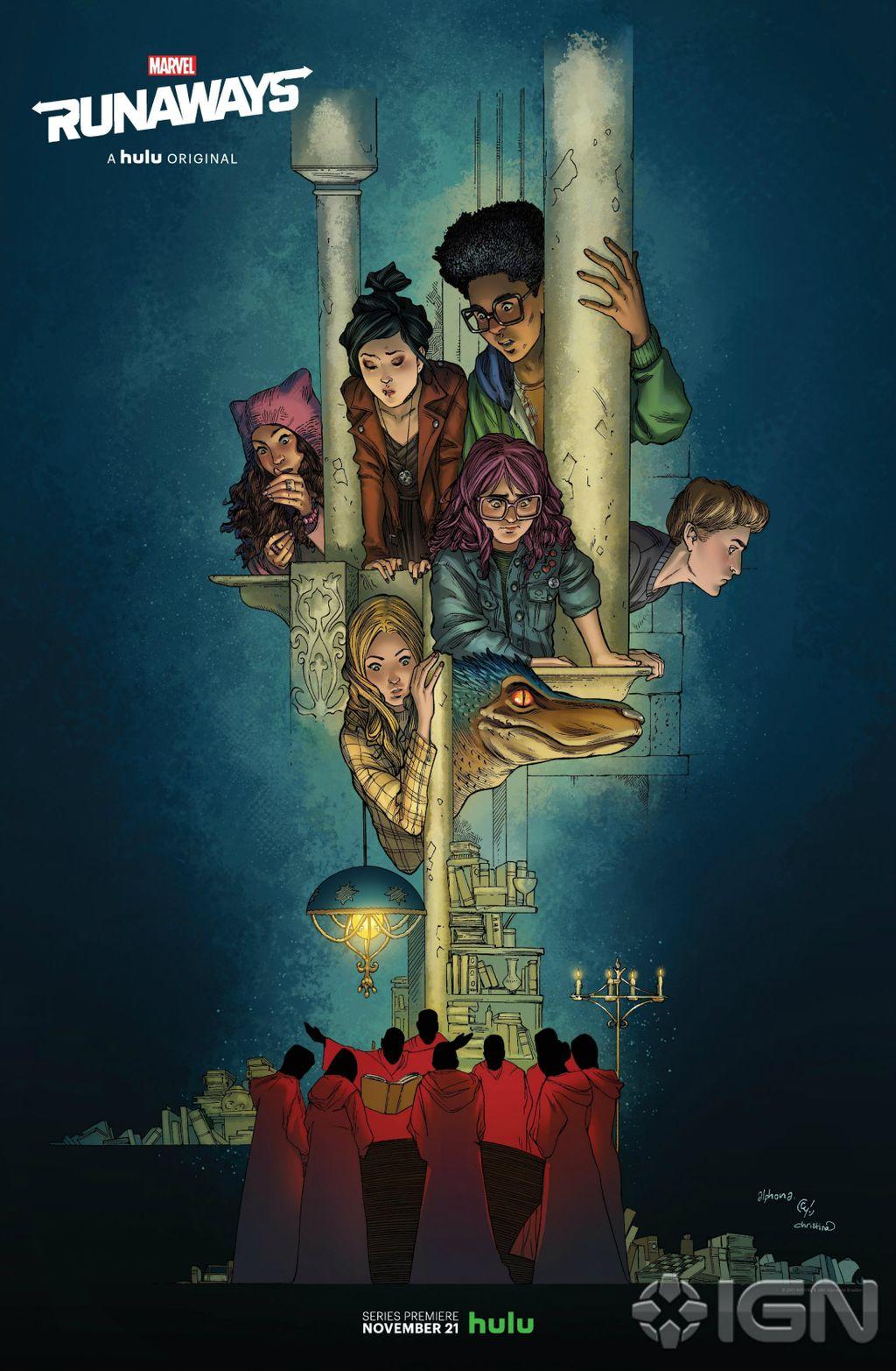 The Runaways (Marvel en force) Runaways-NYCC-Poster