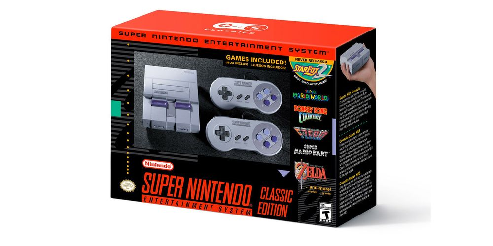 Nintendo Sold More than 2 Million SNES Classics In A Month