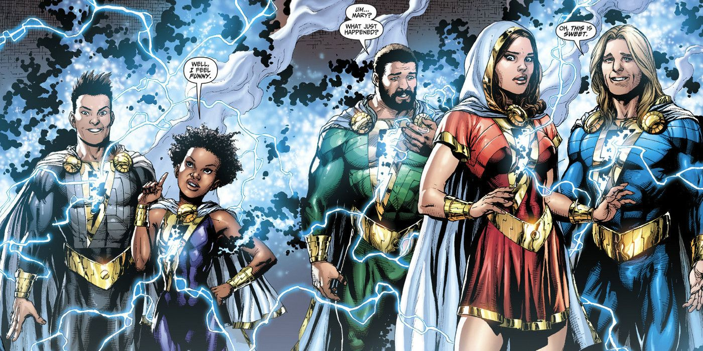 Shazam Seeking To Cast Marvel Family Members Screen Rant
