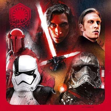 Star Wars: The Last Jedi Artwork Places Rey & Kylo Ren At Forefront
