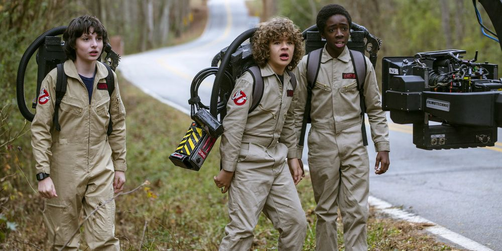 Stranger Things Got Permission to Use Ghostbusters Costumes