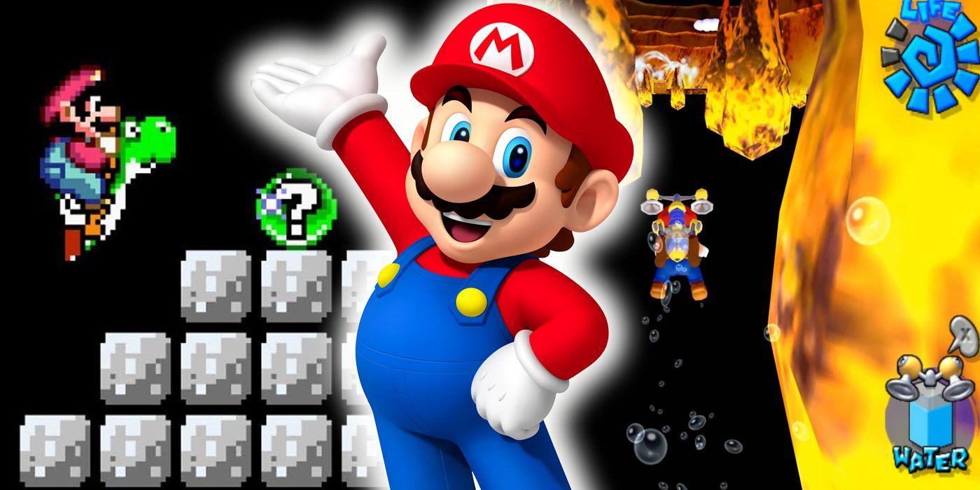 Super Mario: Insane Hidden Glitches | ScreenRant