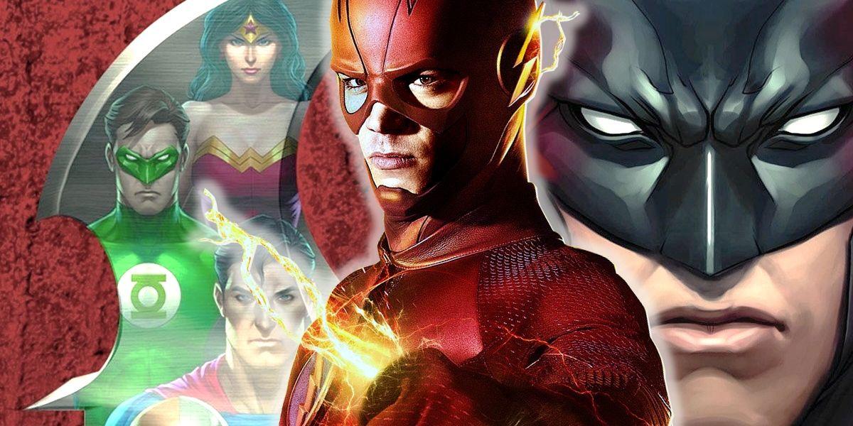 CW's Flash Drops MAJOR Justice League Easter Egg  Screen Rant
