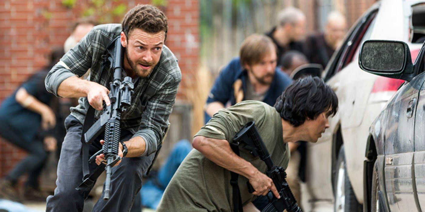 The Walking Dead Season 8 The Damned Aaron - The Walking Dead 8. Sezon