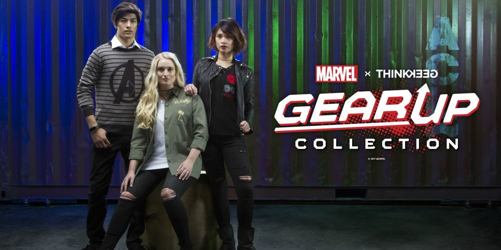ThinkGeek Now Has Marvel Clothing Line