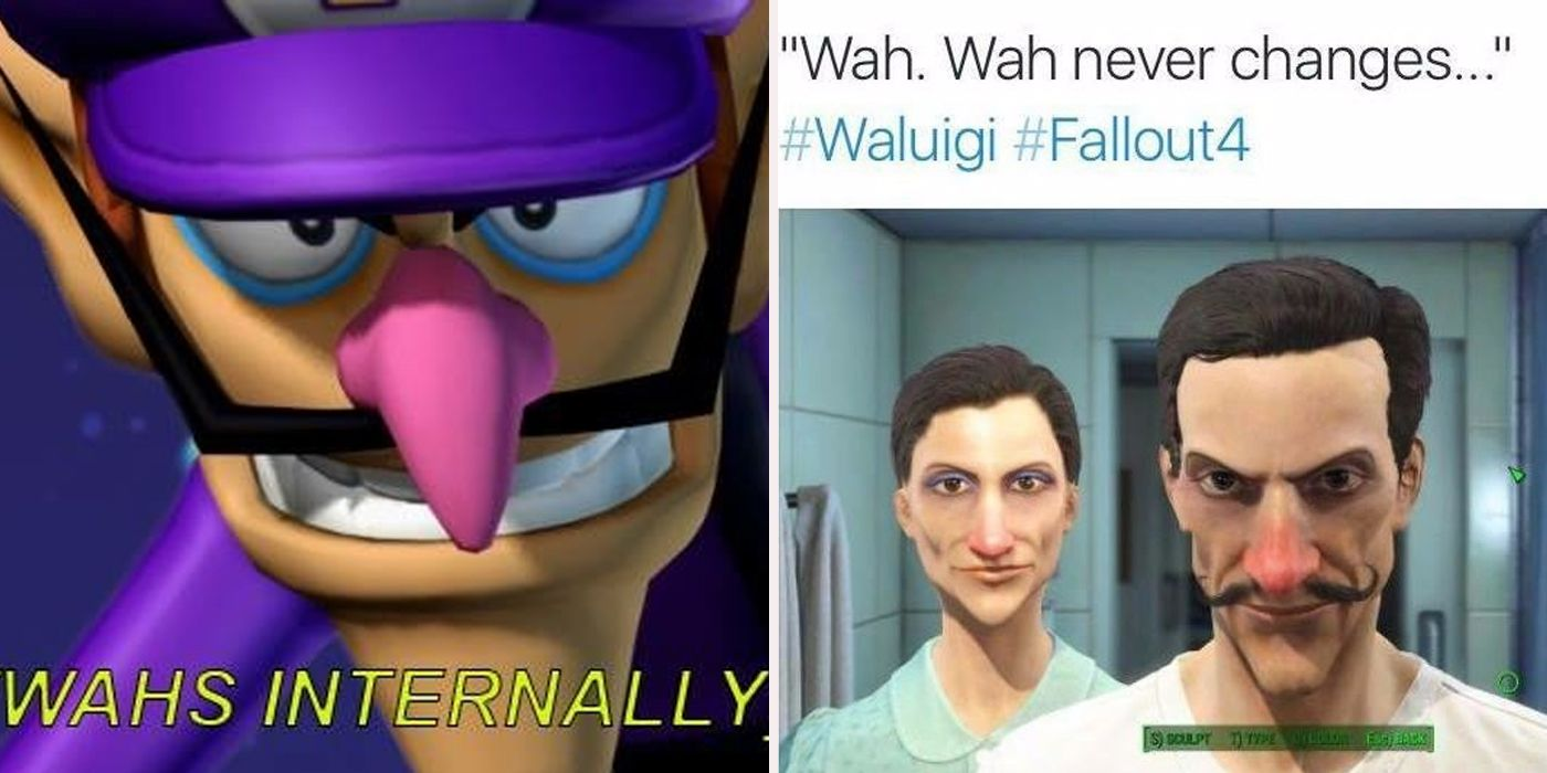 things you never knew about waluigi screenrant