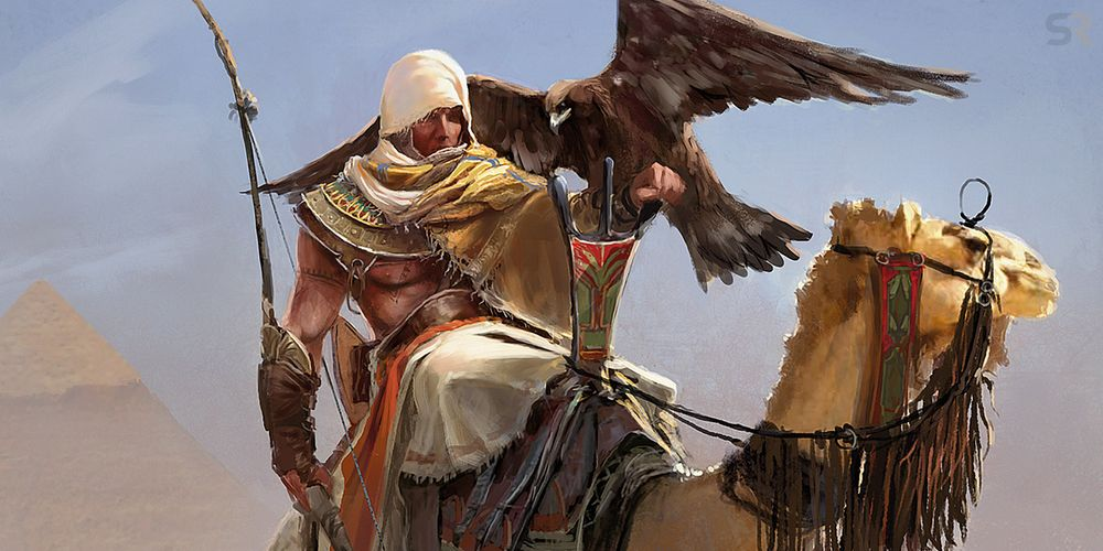 Gorgeous Exclusive Art From Assassin's Creed: Origins