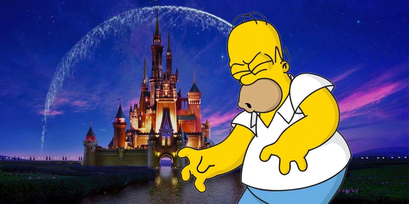 Disney + Simpsons