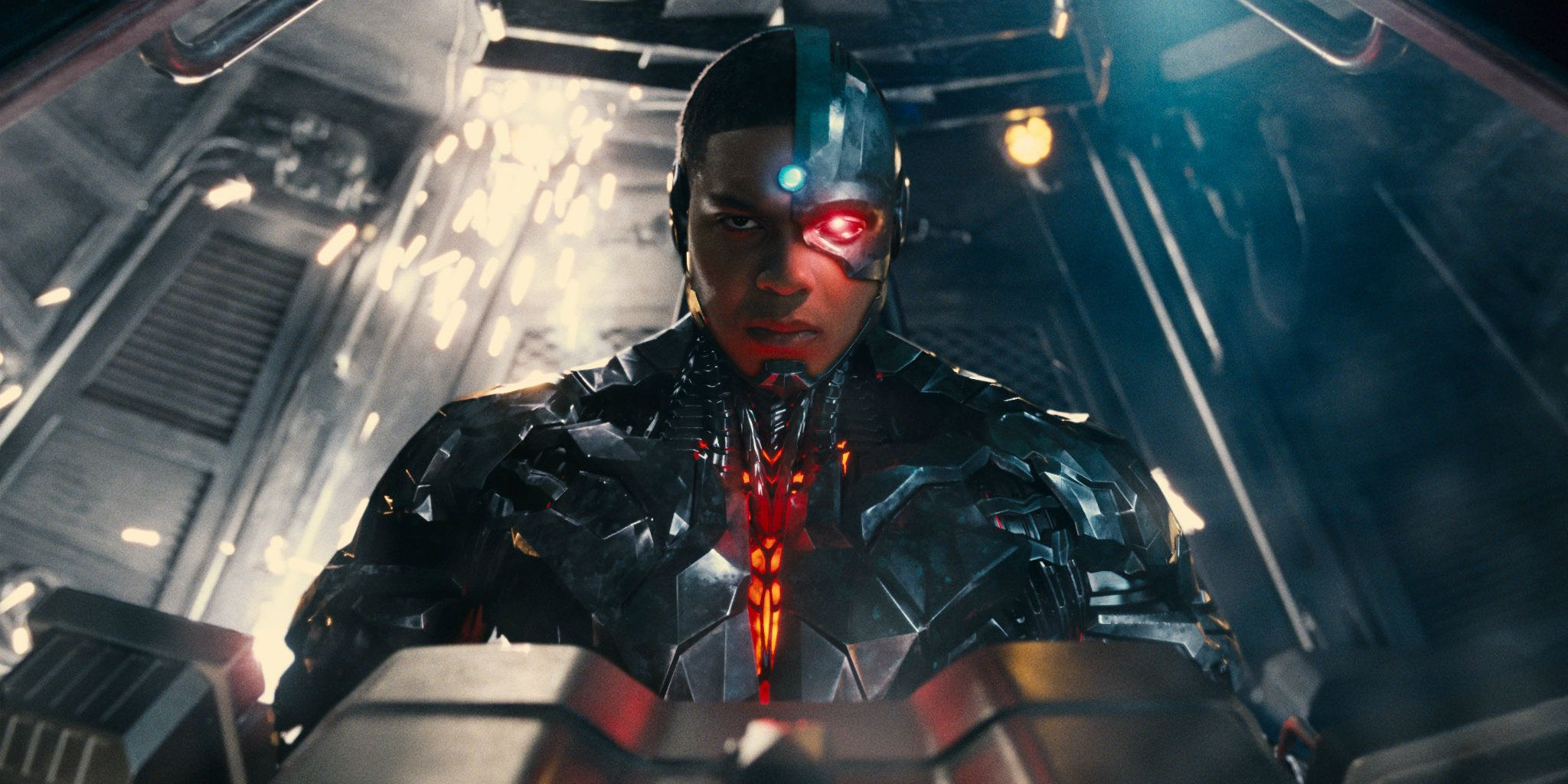 Justice League Star Ray Fisher Dresses As Cyborg For Halloween