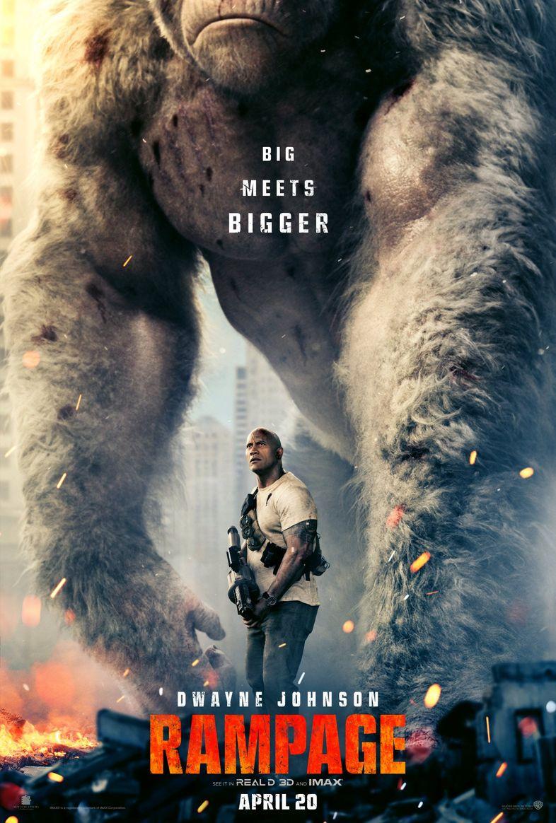 Rampage (Brad Peyton) Rampage-Movie-Poster